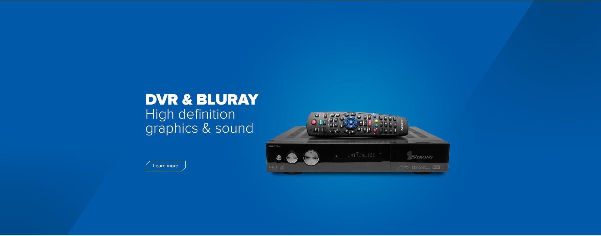 DVR & BluRay