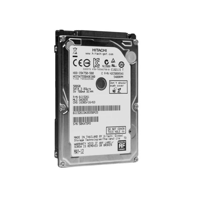 "Hitachi SATA Hard Drive 2.5"" 500Gb  5400RPM Hard Drive - SOLD OUT"