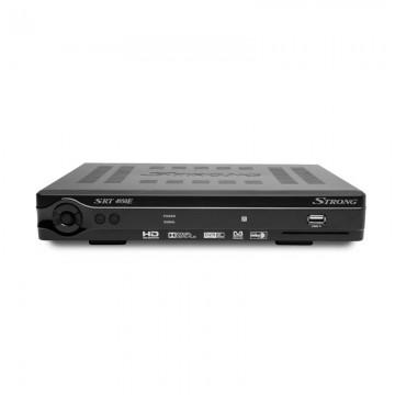 MPEG4, DVBS-2, HD, Card Reader, RF Modulator, WiFi via Dongle with DVR Ready
