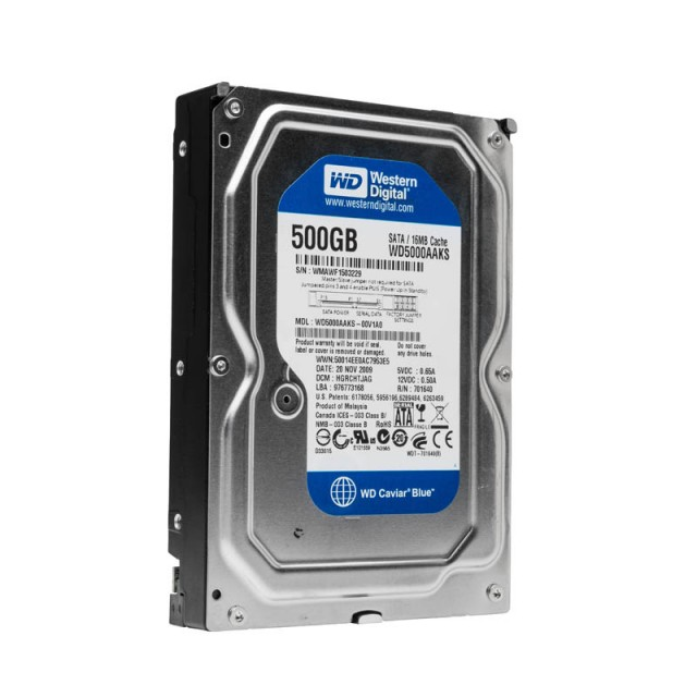 "10 Pack 3.5"" 500Gb Hard Drives - Refurnished"